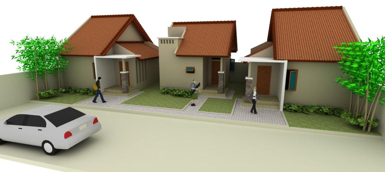 & BiroProperti.com | Desain Rumah Kontrakan Petakan -